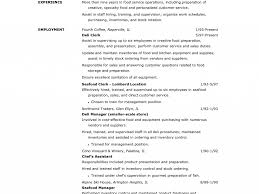 Stunning Food Service Worker Resume Dazzling Resume Cv Cover Letter