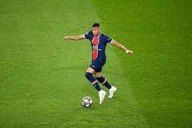 90PLUS   07 KYLIAN MBAPPE (PSG) FOOTBALL : Paris SG vs Manchester City - Ligue  des Champions - 28/04/2021 AnthonyBIBARD/FEP/Pano   Fussball international  – seriös & kompakt