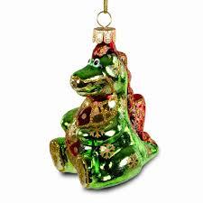 Sikora Christbaumschmuck Glas Ornament Drache H