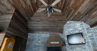 trending in homes raw wood beams