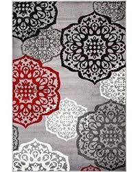 red and white area rug red black and white area rug new summit elite s gray red and white area rug