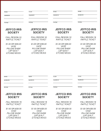 raffle software free printable raffle ticket template download fresh tickets