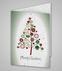 Seed Paper Card Merry Christmas K