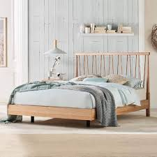 The 'Spindle' Bed Frame is pure... - Domayne Australia | Facebook