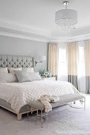 a neutral serene master bedroom