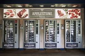 Different Vending Machines Inspiration Applestone Meat's Steak Vending Machine Bloomberg