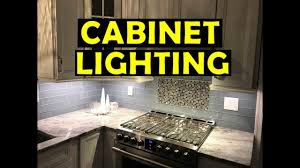 how to install cabinet lighting. How To Install Cabinet Lighting - Under T