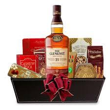 single malt scotch whisky gift basket engravable