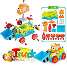 specifications of kobwa diy embly toy car truck construction bulldozer toys 3 5 years old boys s diy toddler toys gift kids