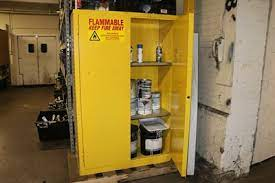 used flammable storage cabinets for