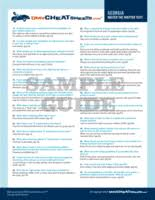 cdl answer sheet florida dmv cheat sheet online practice test bundle