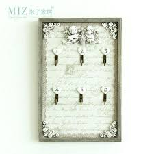 Decorative Key Boxes Wall Key Holder Key Storage Cabinet Wood Decorative Key Cabinet 47