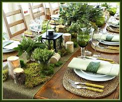 Rustic Greenery Christmas Tablescape and Place Setting