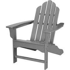trex outdoor furniture cape cod classic white folding plastic adirondack chair txa53cw the home depot