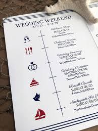 Wedding Schedule Ways To Inform Your Wedding Guests