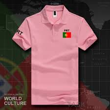 portugal portuguese polo shirts men short sleeve white brands printed for country 2017 cotton nation team flag portuguesa pt in polo from men s clothing