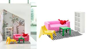 Ikea dolls house furniture Wooden Gizmodo Ikea Dollhouse Furniture Is Perfect For Barbies Drëamhøuse