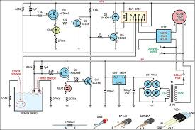 how to build automatic water tank filler circuit diagram circuit automatic water tank filler circuit diagram circuit diagram