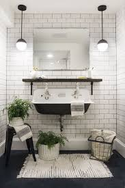 White bathroom tiles Vintage Modern Black And White Bathrooms Aricherlife Home Decor Trendy Black And White Bathroom Tile Aricherlife Home Decor Trendy