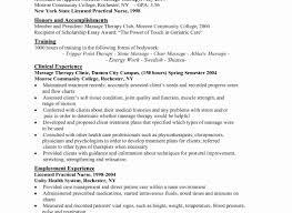 Resume Lpn Student Examples Practical Nursing New Graduate Best