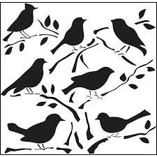 crafters workshop 12 x 12 plastic template birds d 20110422033742487~6446803w workshop 12\