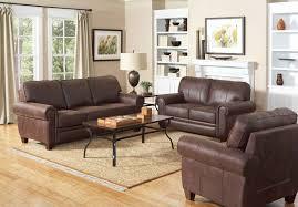 Microfiber Living Room Furniture Sets Coaster Bentley Living Room Set Brown 504201 Livset At