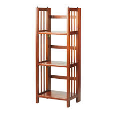 3-Shelf Folding 14-inch Wide Bookcase - Free Shipping Today - Overstock.com  - 14496987
