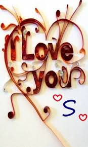 s letter in love wallpapers posted by