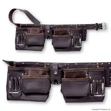 premium usa leather tool belt
