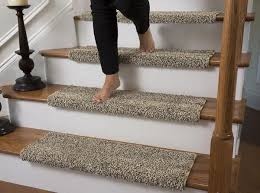 carpet stair treads. caprice beach bum bullnose carpet stair tread with adhesive padding - 27\ treads g
