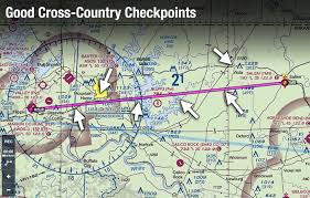 Aviation Charts On Google Maps How To Pick The Best Vfr Cross Country Checkpoints Boldmethod