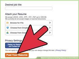 Image titled Upload an Existing Resume on CareerBuilder Step 9