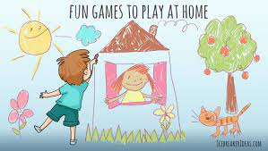 18 fun games to play at home