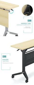 foldable computer desk uk office meeting training folding table wheels