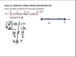 translate verbal phrases into