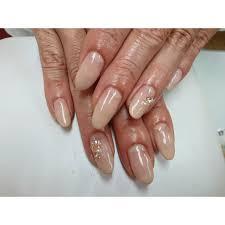 ベージュシンプルグラデーション Nail Salon Cocoココのネイル