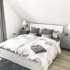 Instagram Wohnemotion Landhaus Schlafzimmer Bedroom Modern Grau