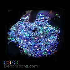christmas rope lighting. RGB Colorful LED Copper Lights Christmas Rope Decorative String Lighting W