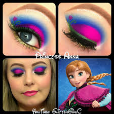disney s frozen princess anna makeup tutorial