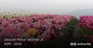 Deacon Milton Warren Jr. Obituary (1929 - 2020) | Snow Hill, North Carolina