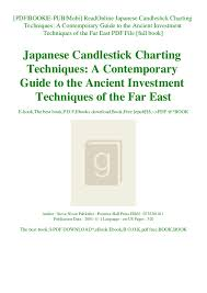 Readonline Japanese Candlestick Charting Techniques A