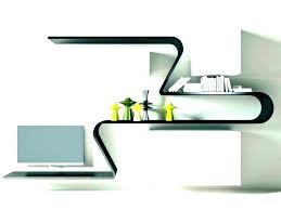 curved shelves cat floating glass wall shelf uk