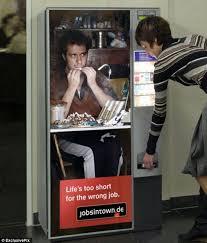 Vending Machines Jobs Beauteous Entry Level Jobs Bizarre Career Website Campaign's Posters Make It