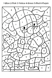 Color Number Coloring Pages Free Printable By Online 35791