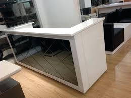 receptionist desks for used reception desk sydney regarding plan 4