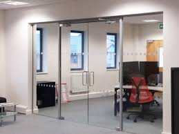 decorating glass partitioning at pruftechnik ltd lichfield staffordshire together with decorating alluring photo double doors