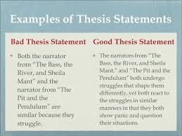Thesis Statement Examples Pinterest