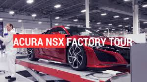 Honda S Acura Nsx Masterstroke Building The Factory In Ohio
