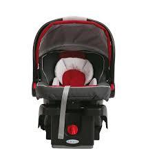 connect infant car seat chili red graco junior mini