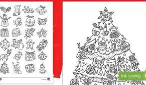 Ausmalbilder Weihnachten Adventskalender Ausmalbilder